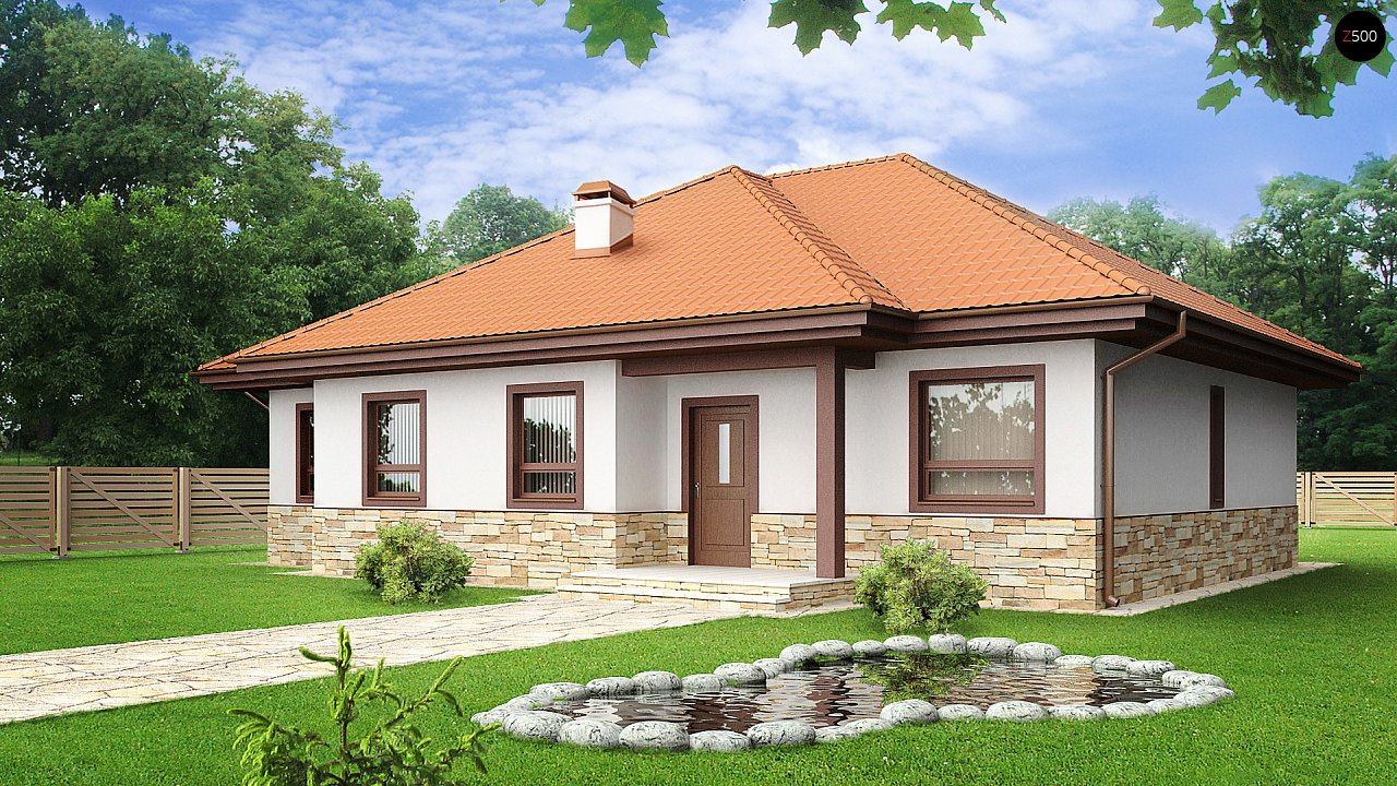 Проект будинку Z23 - 1