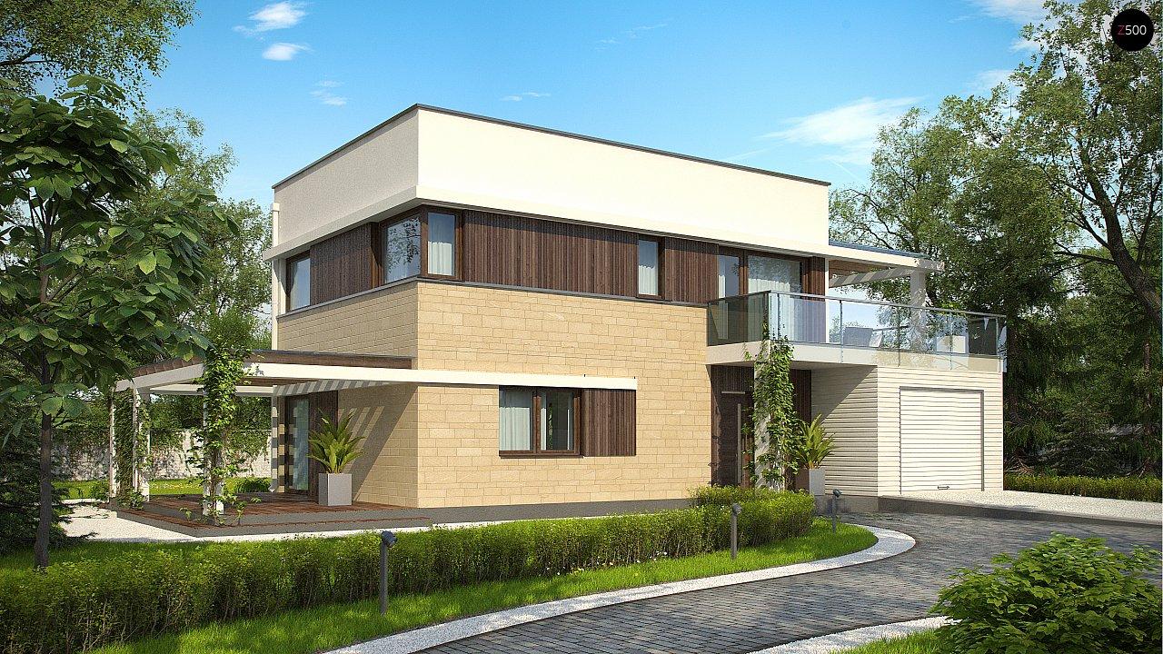 Проект будинку Zx63 A - 1