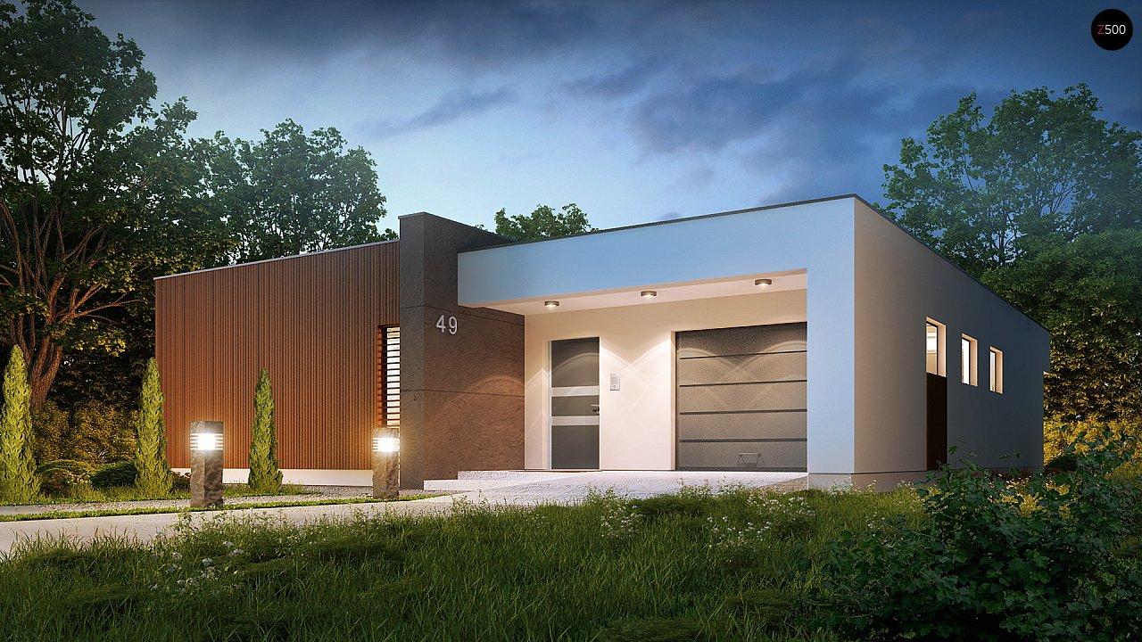 Проект будинку Zx49 - 1