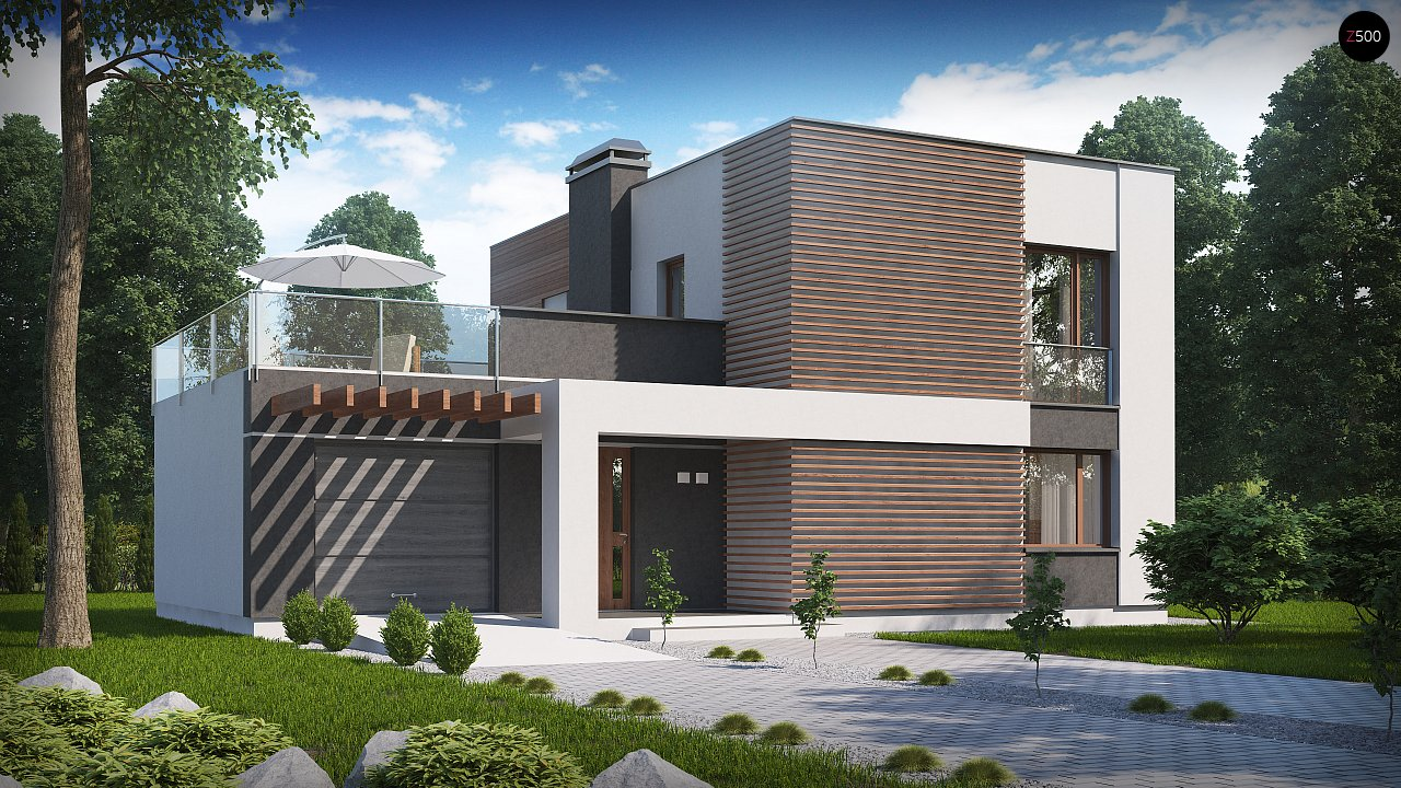 Проект будинку Zx41 v1 - 1