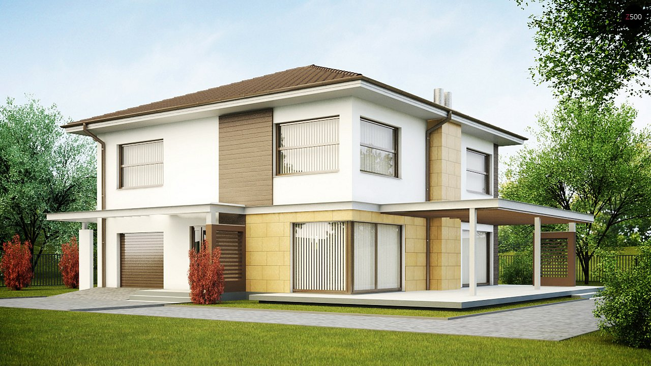 Проект будинку Zx2 - 1