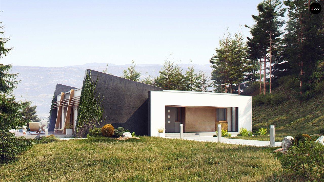 Проект будинку Zx106 - 1