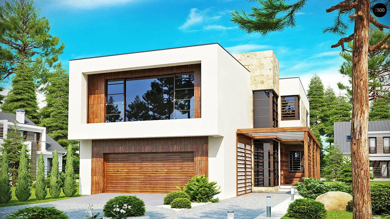 Проект будинку Zx14 - 1