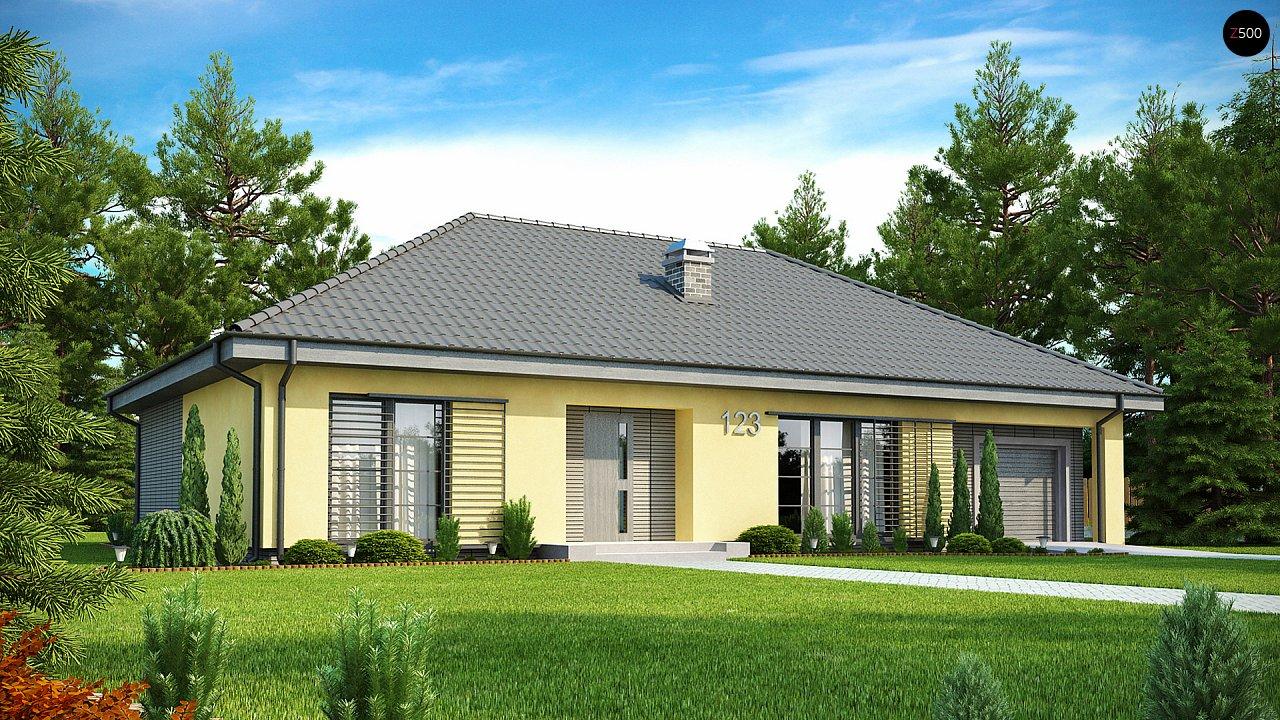 Проект будинку Z123 - 1