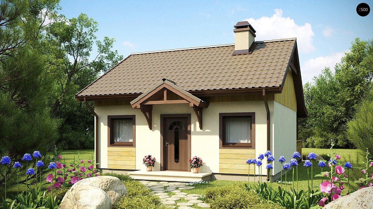 Проект будинку Z60 - 1