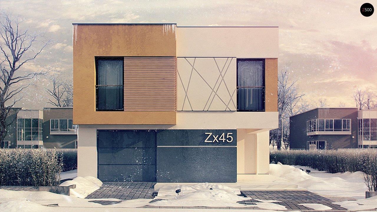 Проект будинку Zx45 - 1
