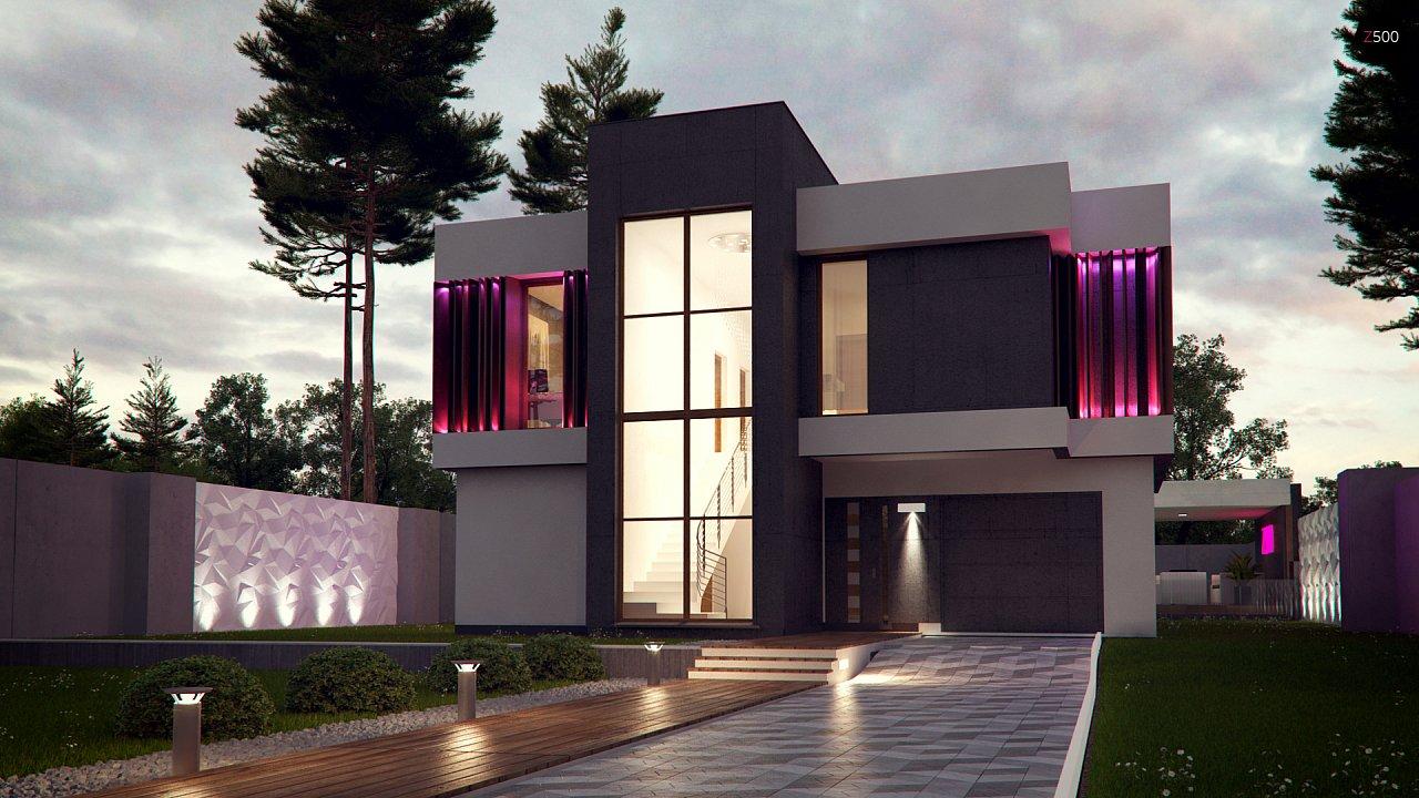 Проект будинку Zx124 - 1