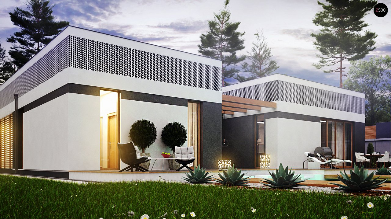 Проект будинку Zx119 - 1