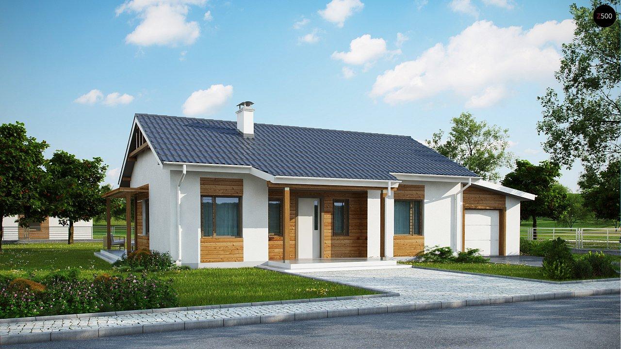 Проект будинку Z136 GP - 1