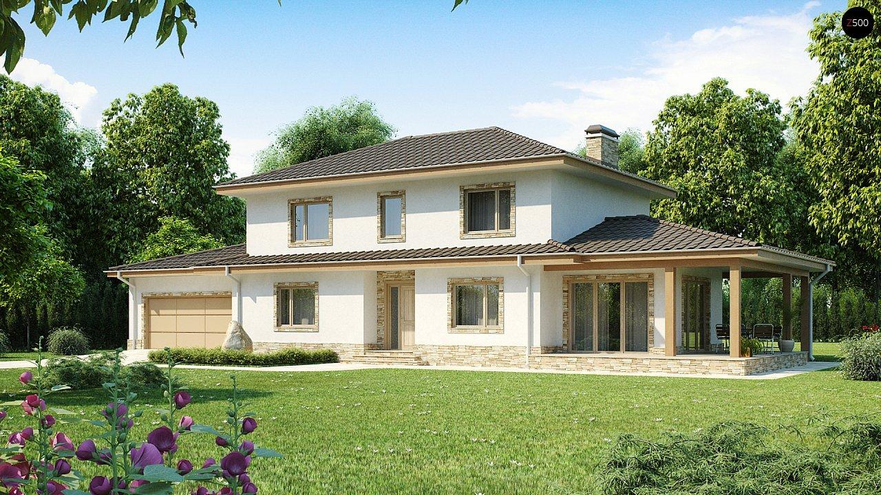 Проект будинку Z74 - 1