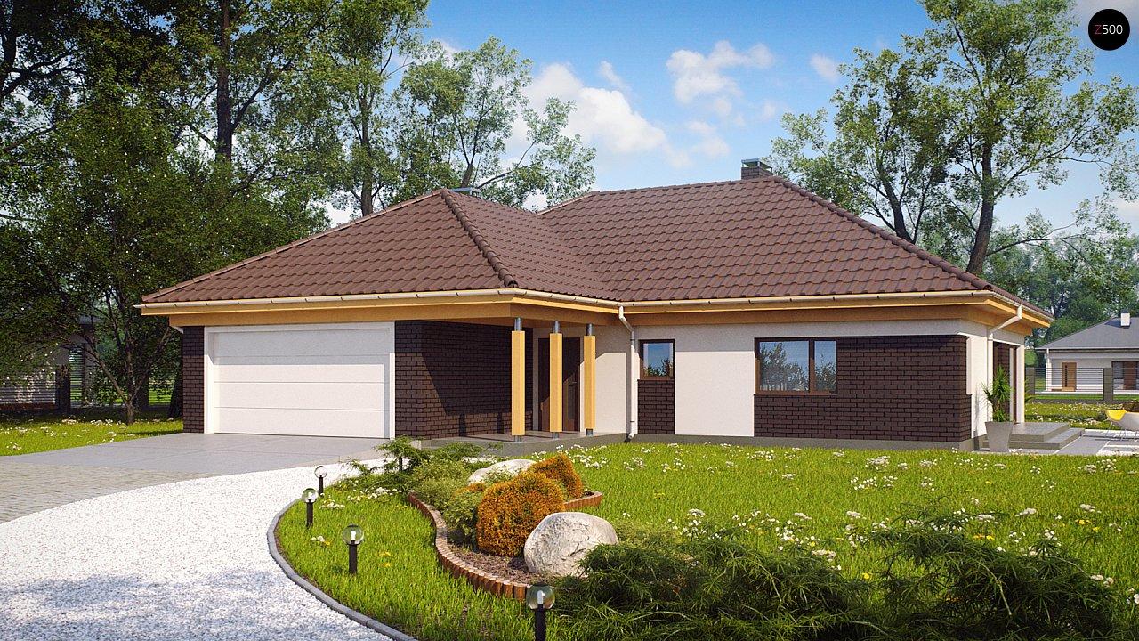 Проект будинку Z144 - 1