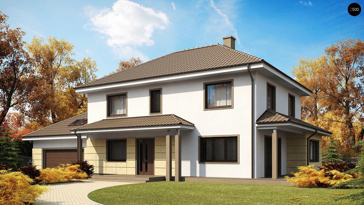 Проект будинку Zx16 - 1