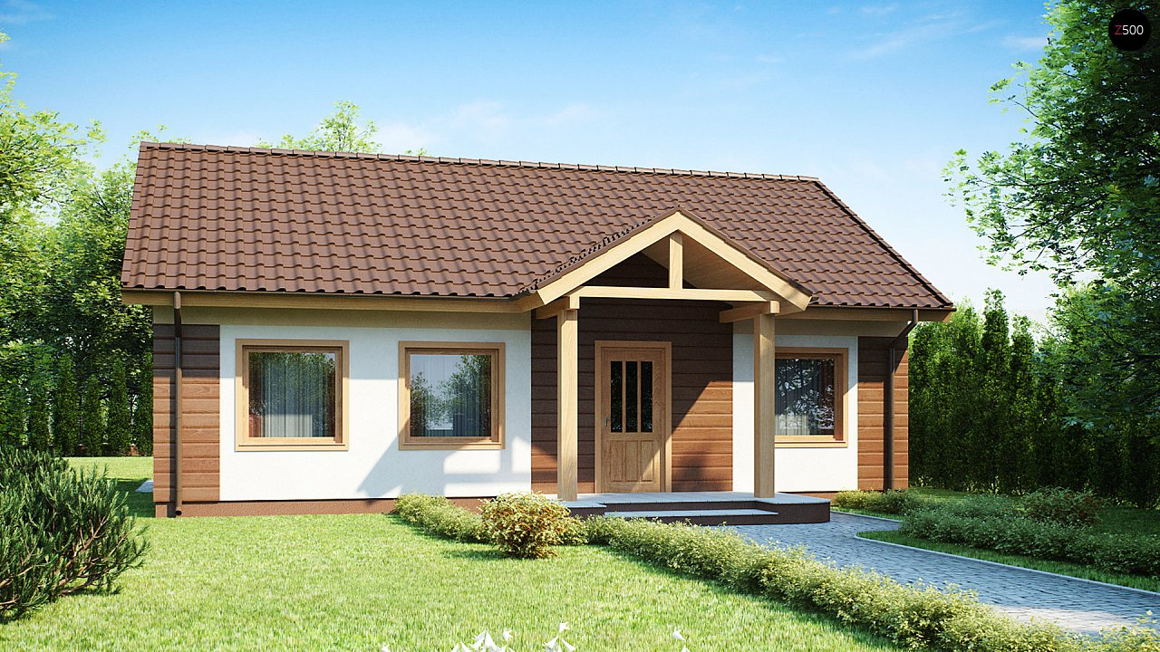 Проект будинку Z61 - 1