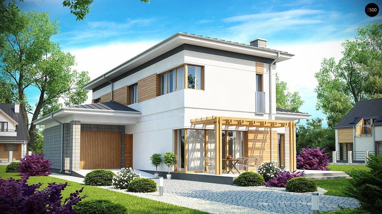Проект будинку Zx25 - 1