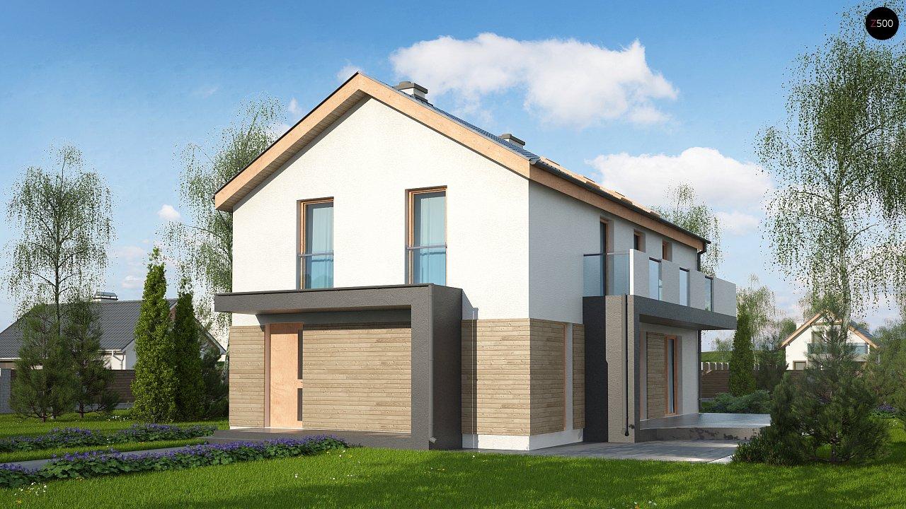 Проект будинку Zx60 BG - 1