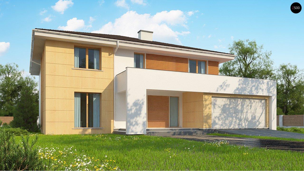 Проект будинку Z156 A - 1