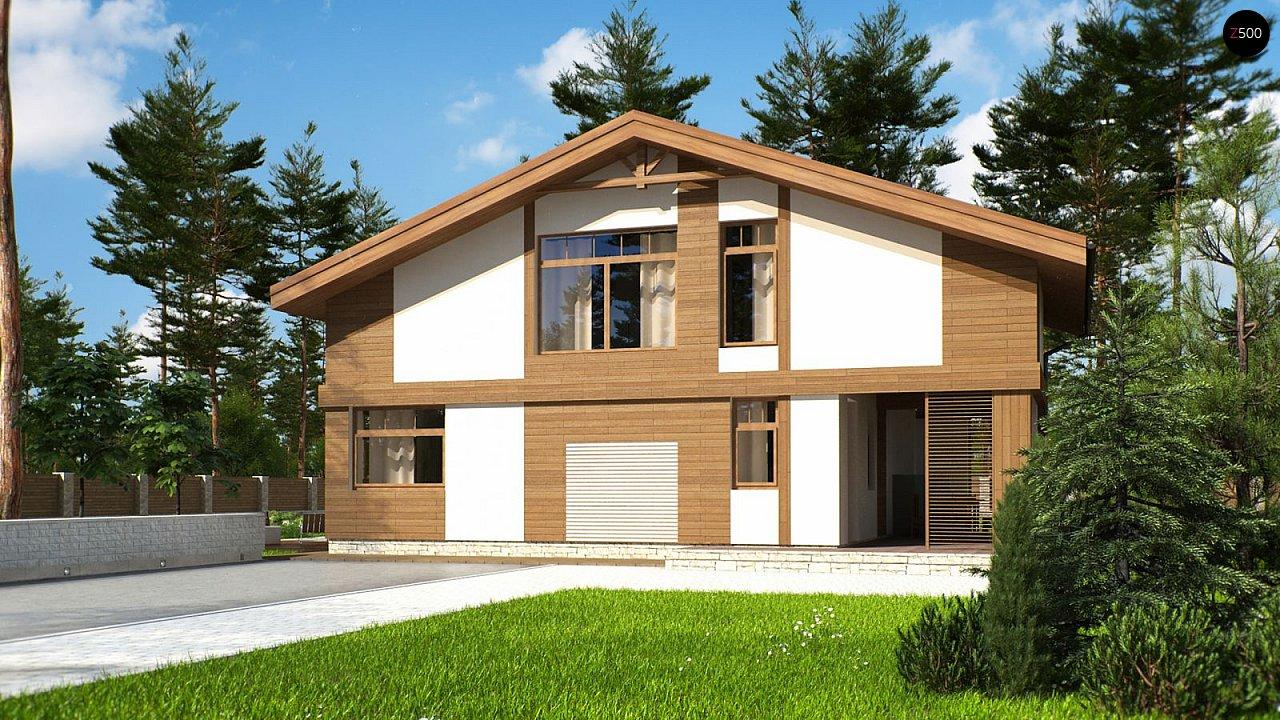 Проект будинку Zp4 - 1