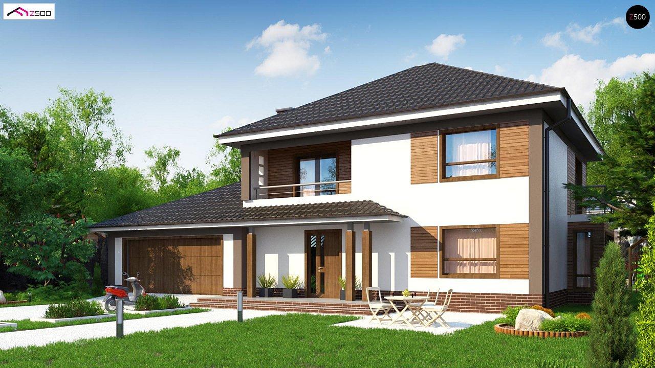 Проект будинку Zx12 GL2 - 1