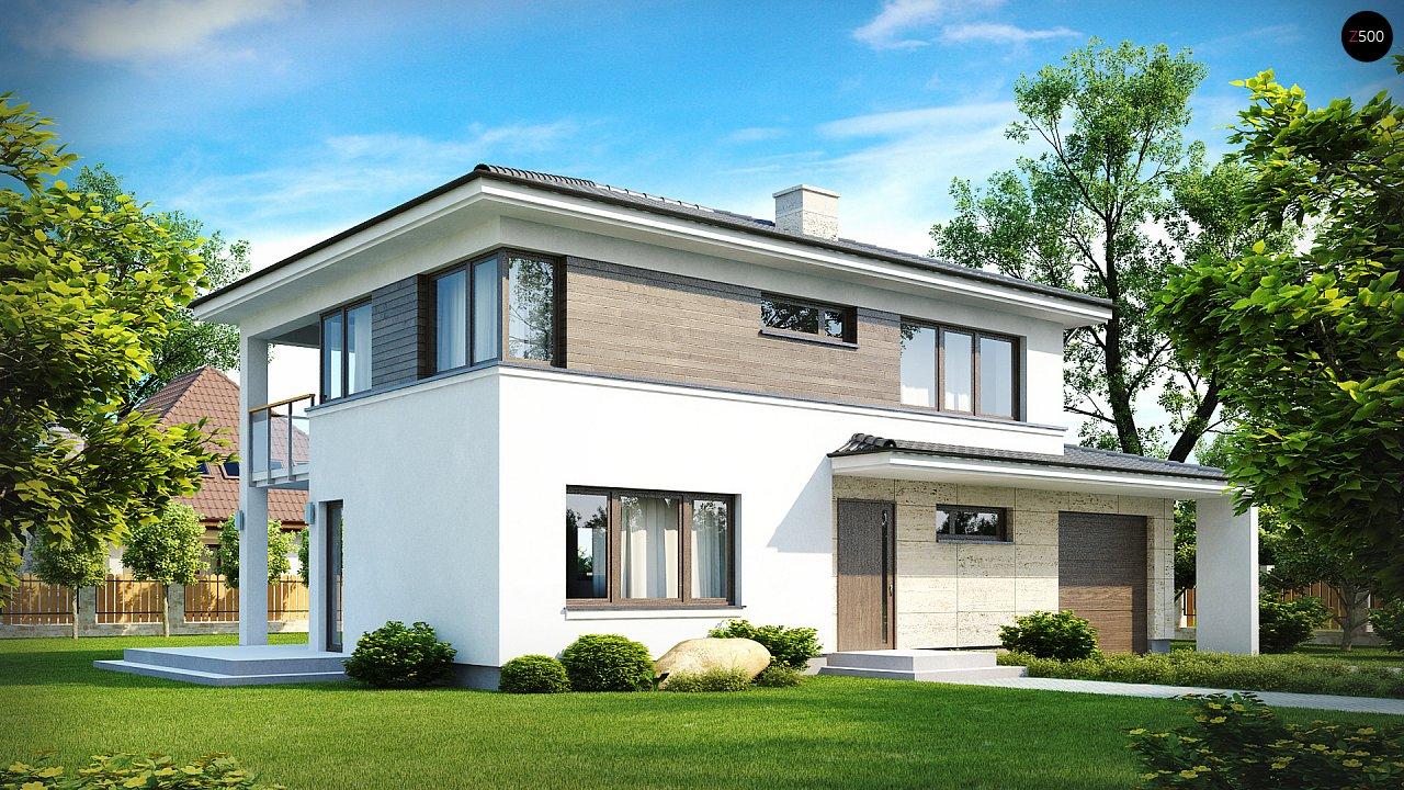 Проект будинку Zx8 - 1