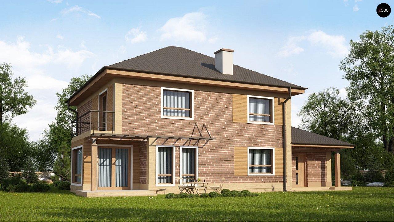 Проект будинку Zx12 k - 1