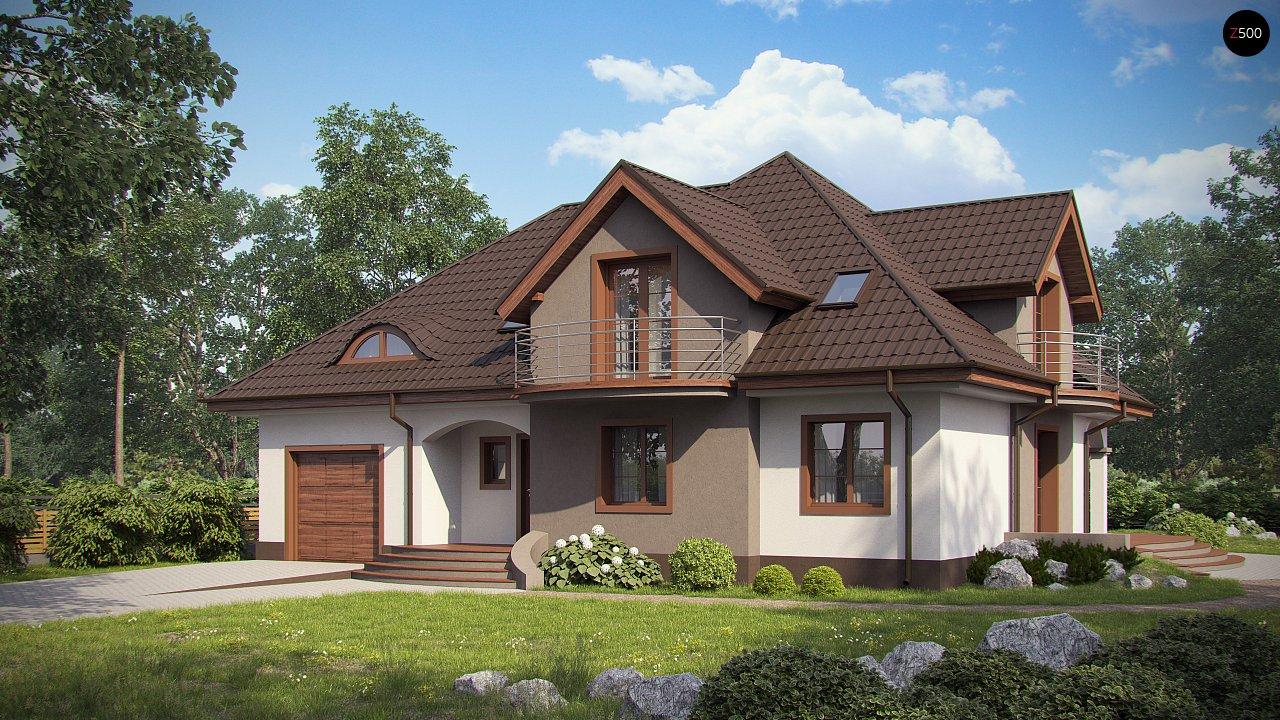 Проект будинку Z18 GL bk - 1