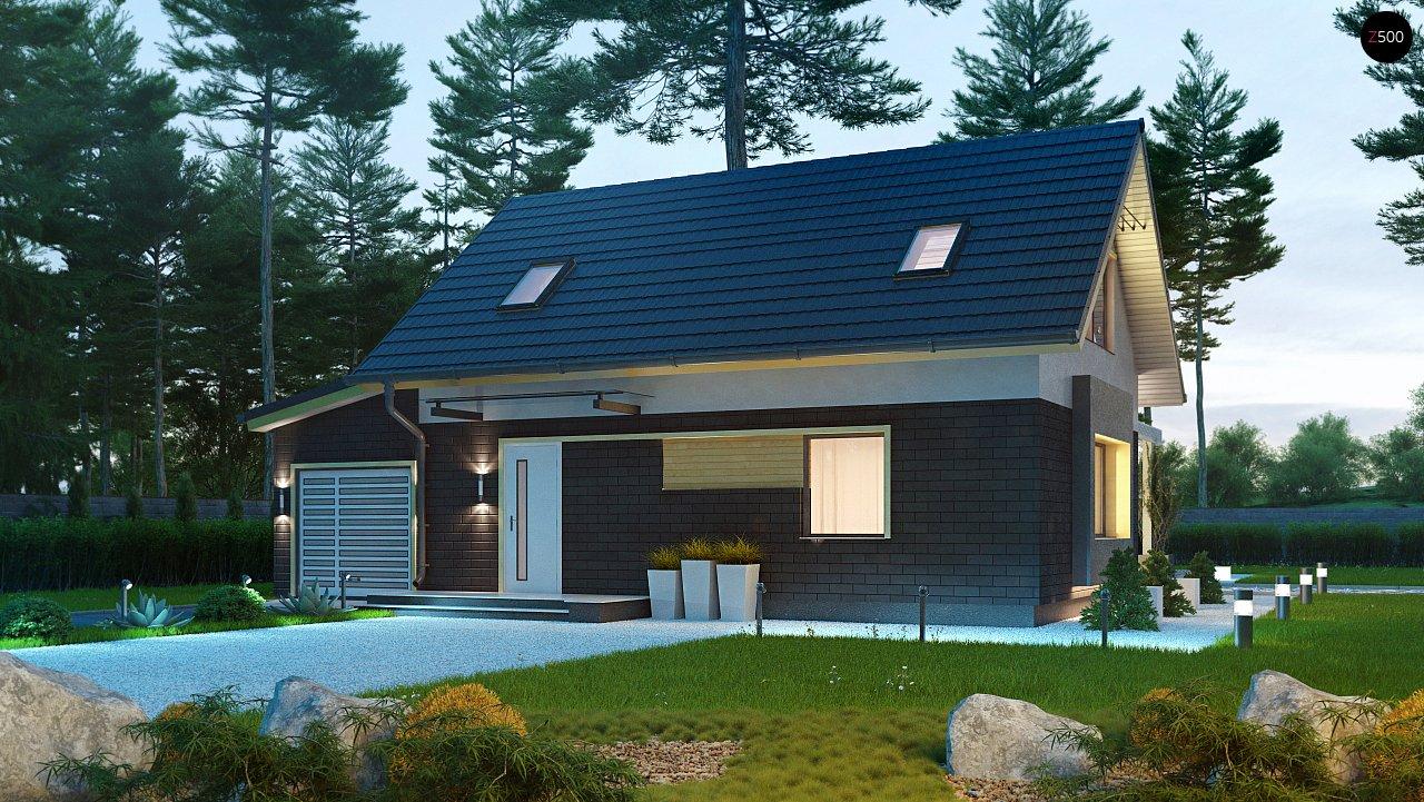 Проект будинку Z227 - 1