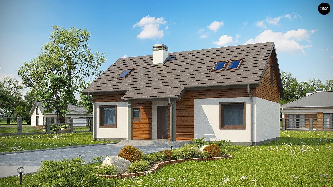 Проект будинку Z7 P 35 - 1