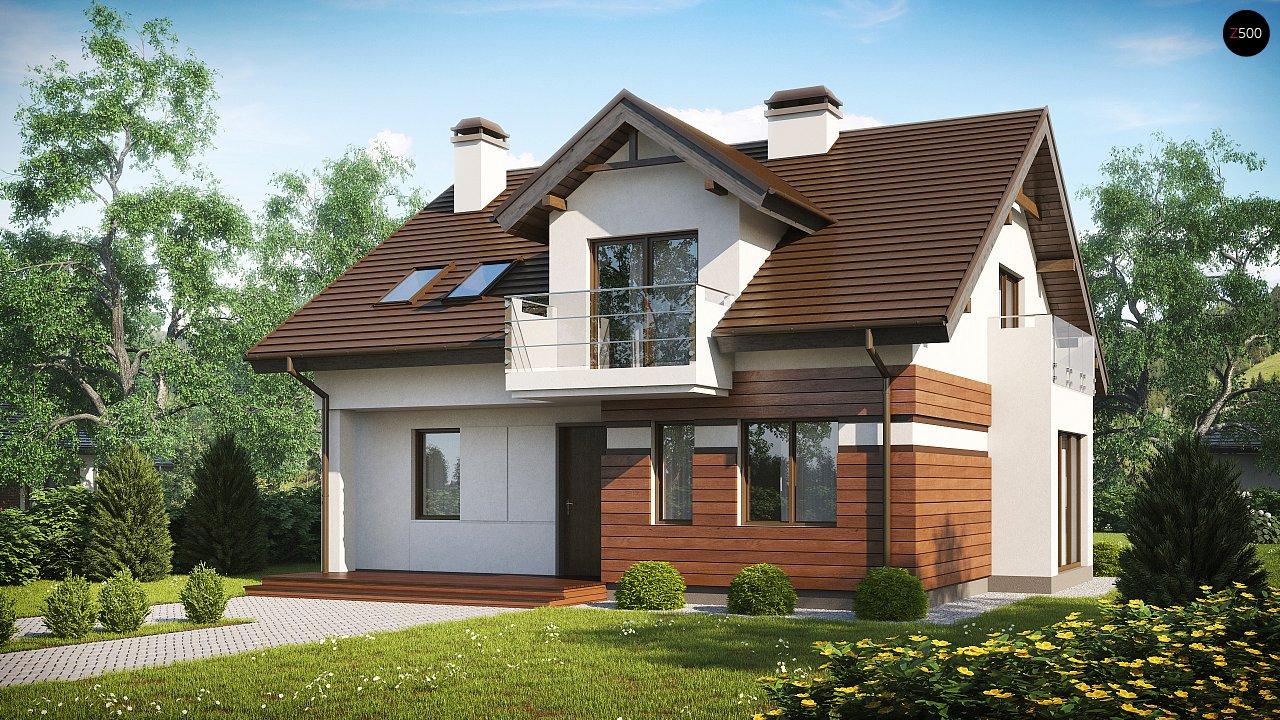 Проект будинку Z28 v2 - 1