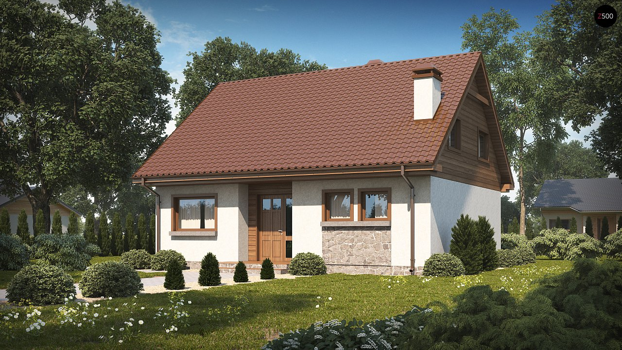 Проект будинку Z40 os - 1