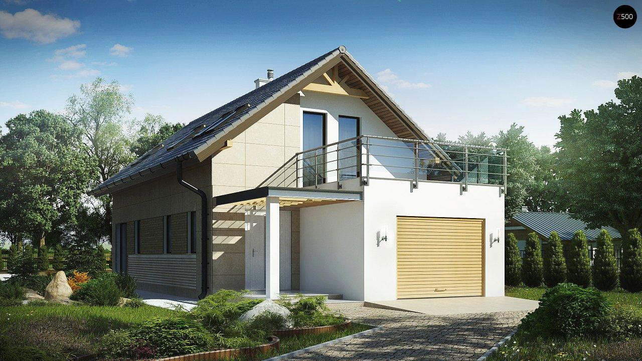 Проект будинку Z299 - 1