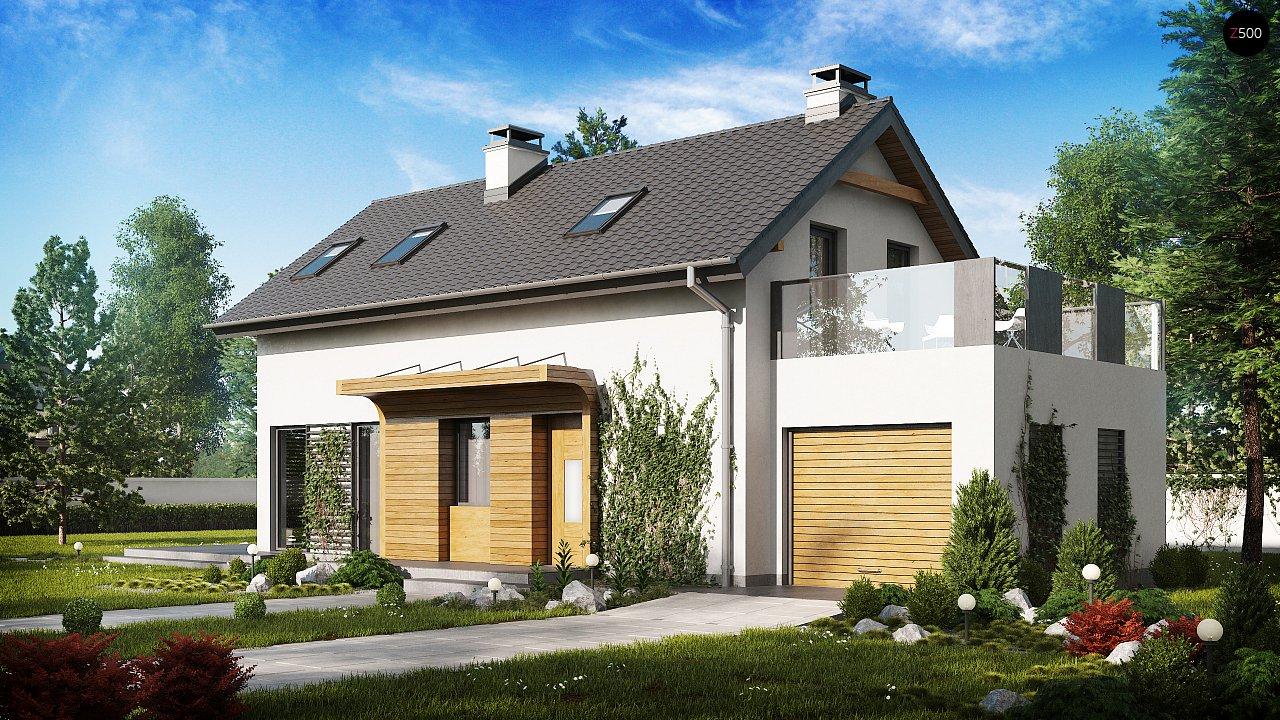 Проект будинку Z298 - 1