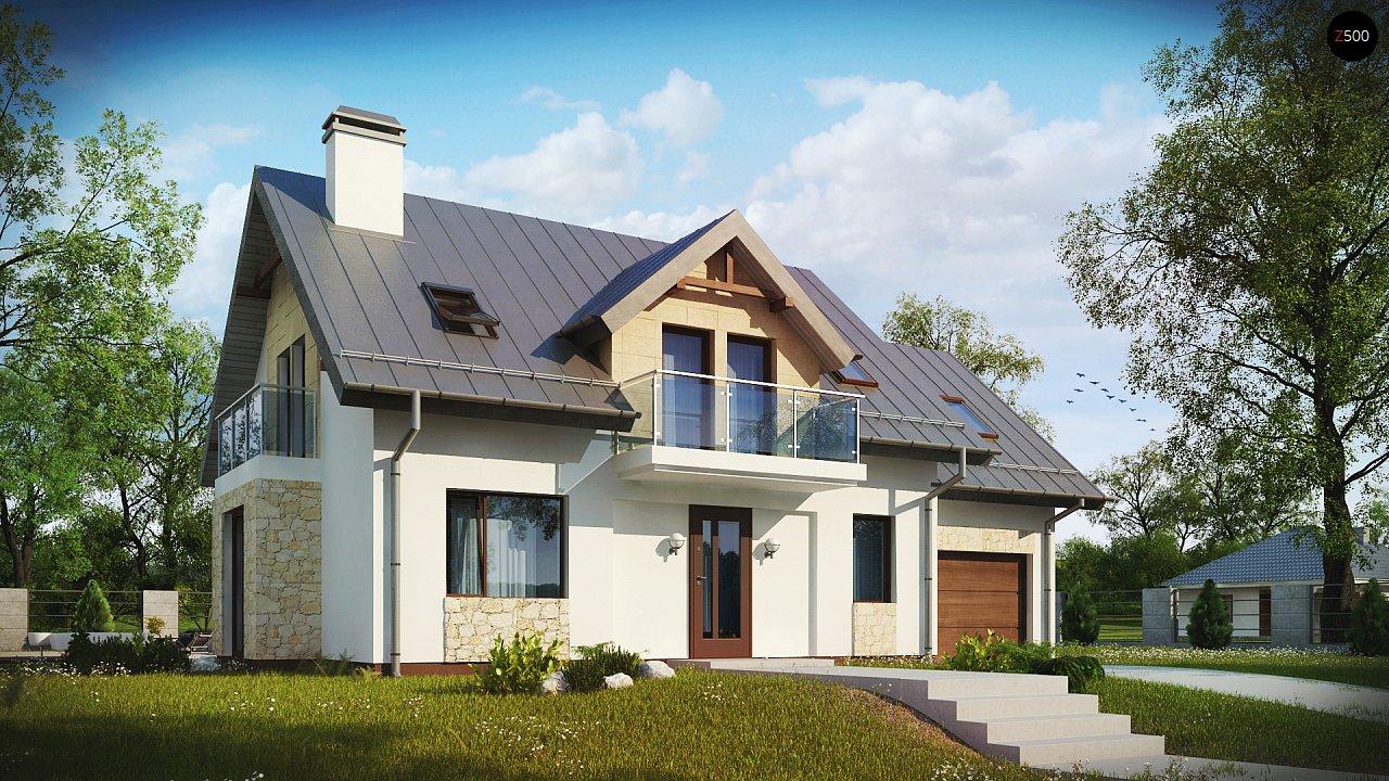 Проект будинку Z263 - 1