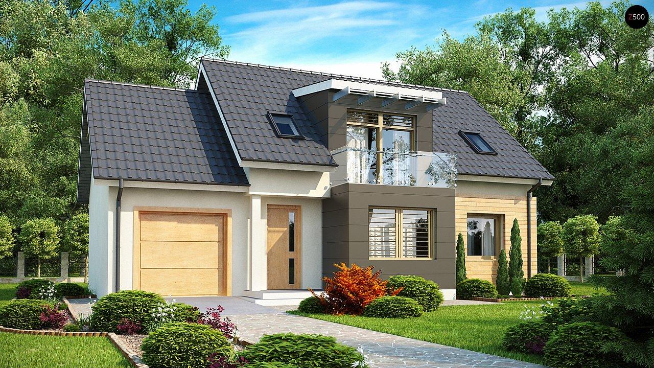 Проект будинку Z192 - 1