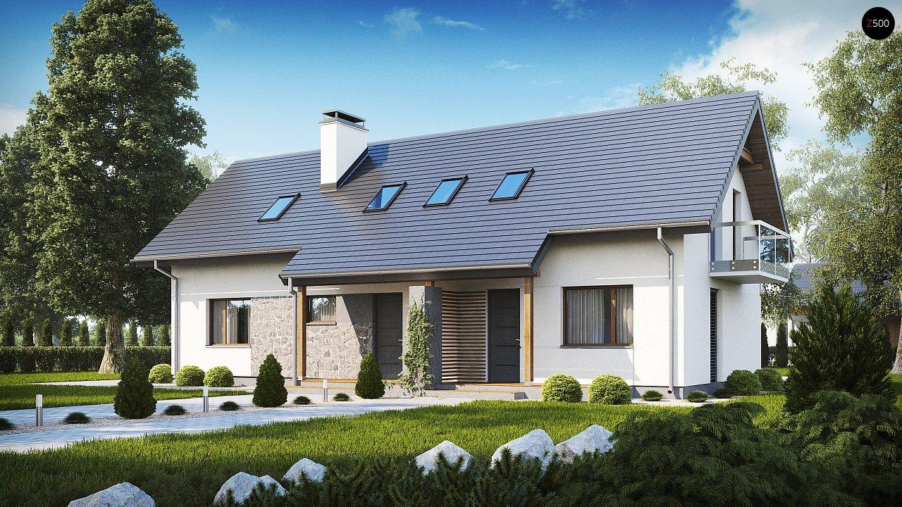 Проект будинку Z184 - 1