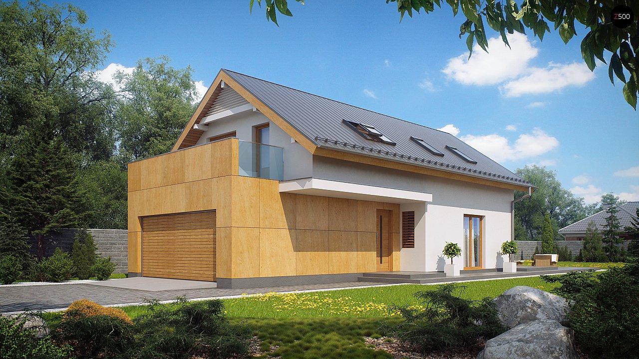 Проект будинку Z292 - 1