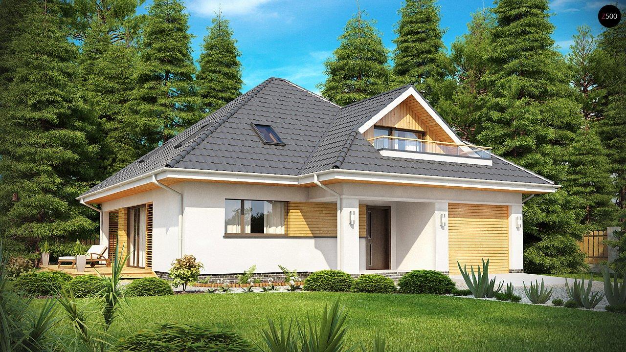 Проект будинку Z143 - 1