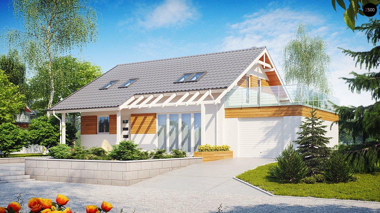 Проект будинку Z36 - 1