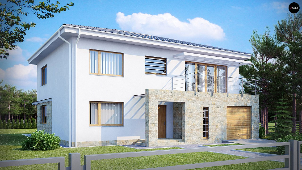 Проект будинку Zx4 - 1