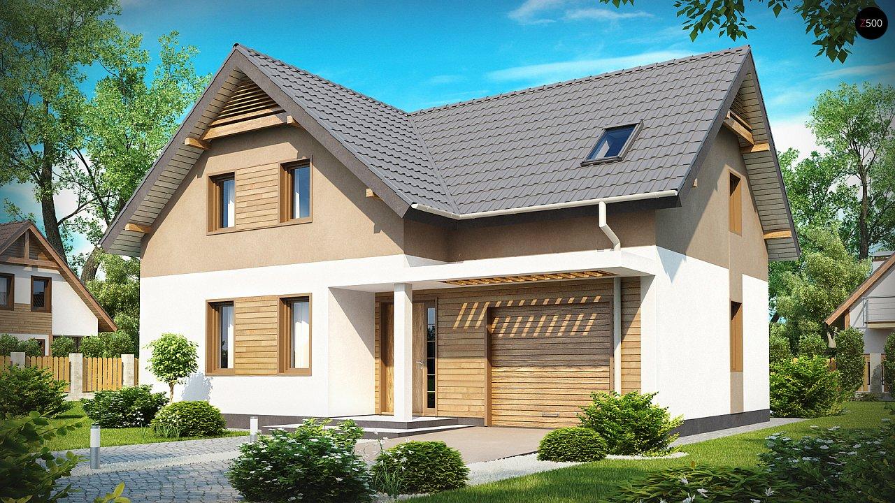 Проект будинку Z197 - 1