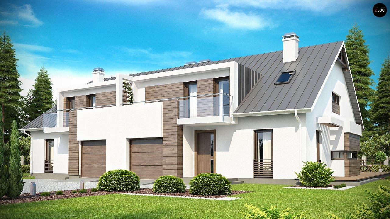 Проект будинку Zb6 - 1