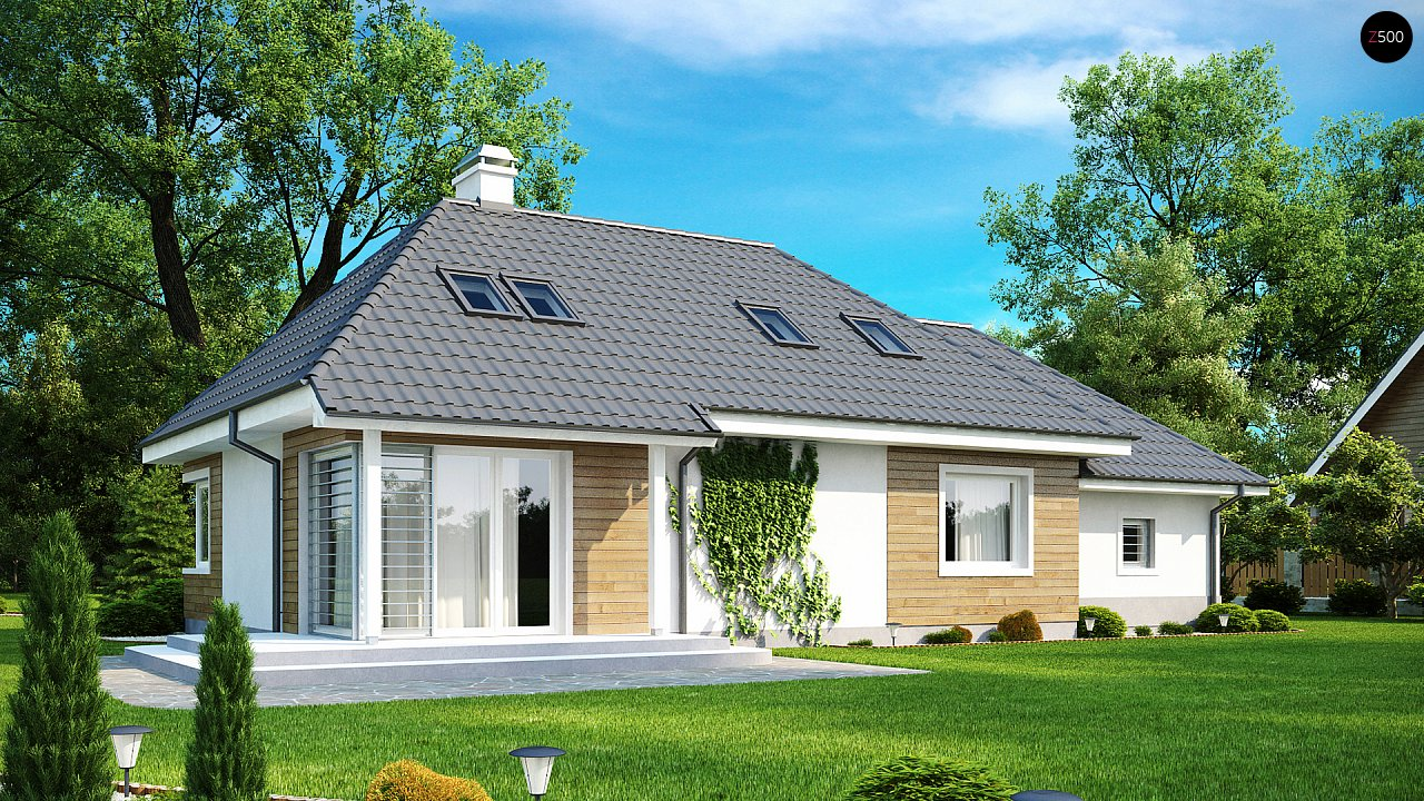 Проект будинку Z105 - 1