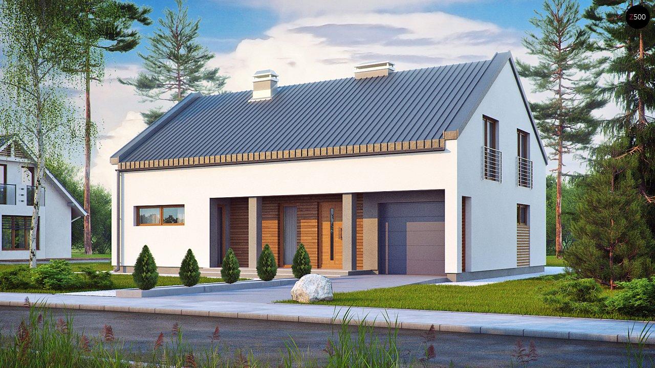 Проект будинку Zx43 - 1