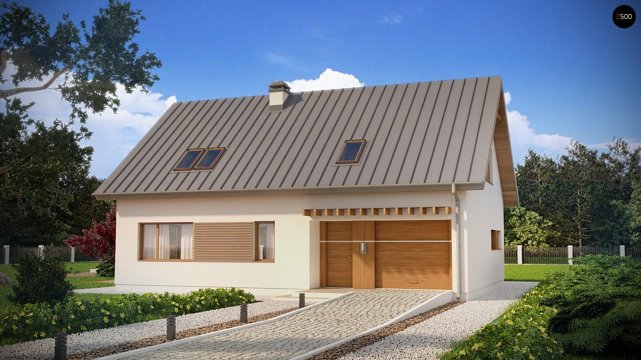 Проект будинку Z240 - 1