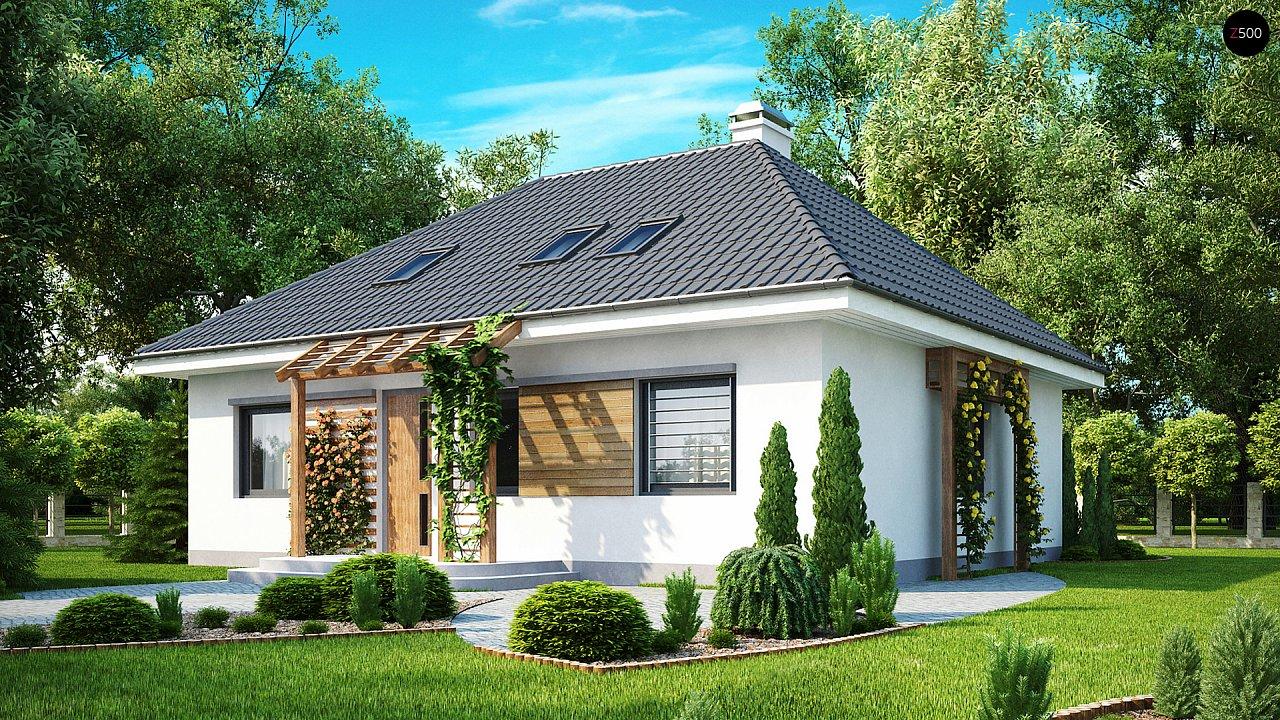 Проект будинку Z121 - 1