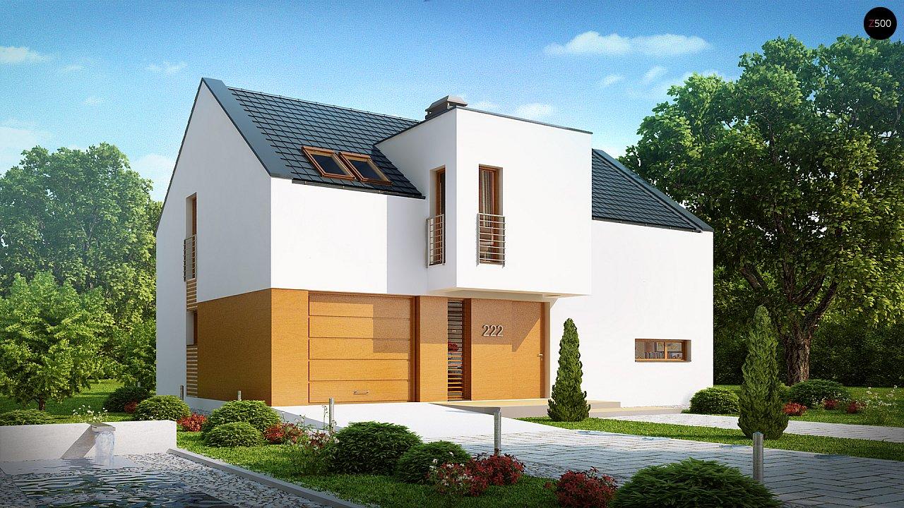 Проект будинку Z222 - 1
