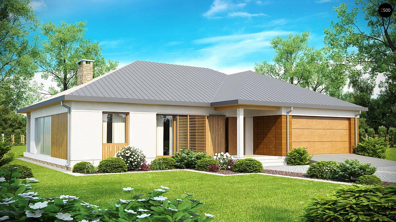 Проект будинку Z152 - 1