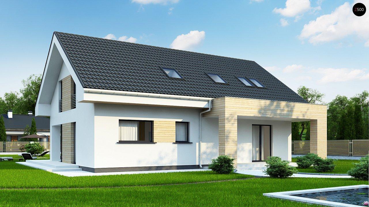 Проект будинку Z160 A - 1