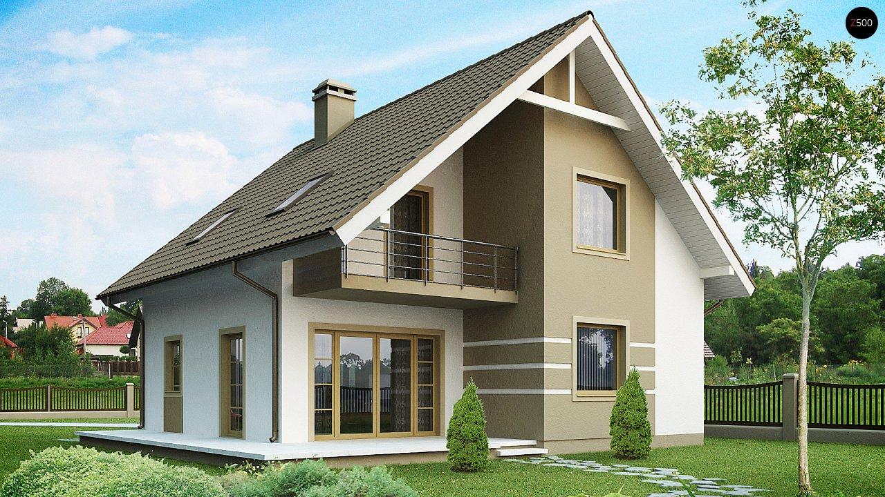 Проект будинку Z62 - 1