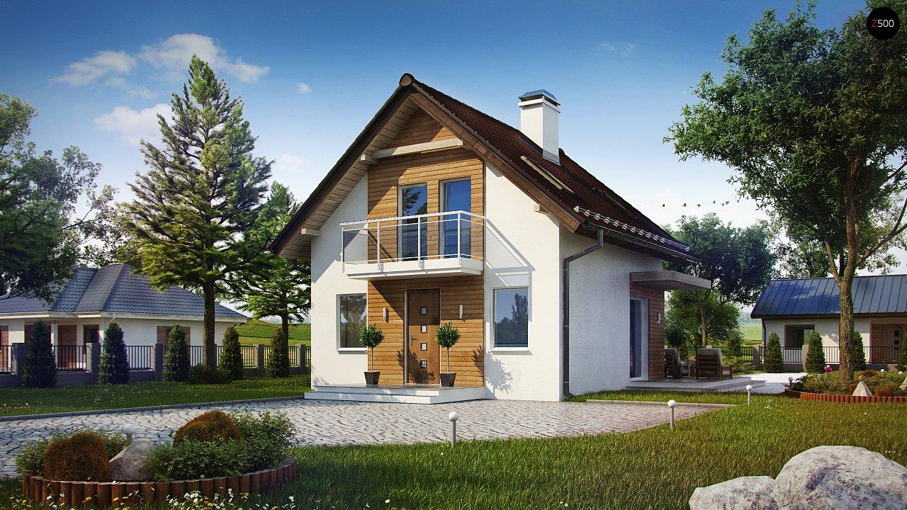 Проект будинку Z264 - 1