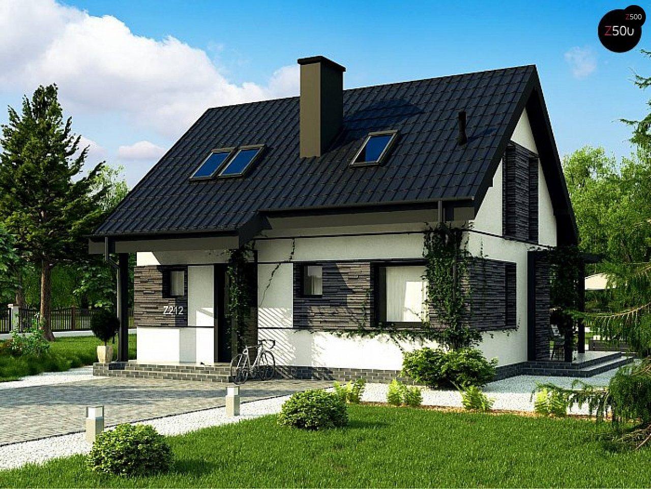 Проект будинку Z212 - 1